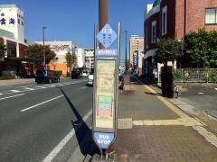 「春竹小学校入口」バス停留所
