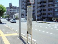 「昭和町」バス停留所