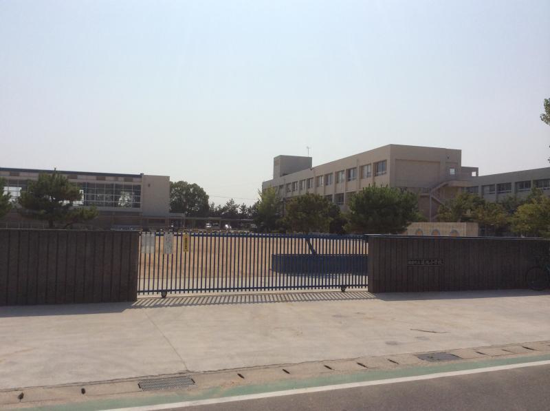 小学校 蓮池