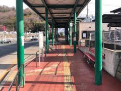 「熊野営業所」バス停留所