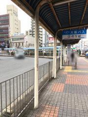 「布施駅前」バス停留所