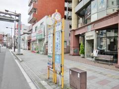 「横川駅前」バス停留所