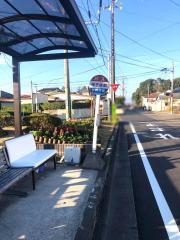 「母子像前」バス停留所