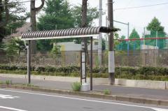 「津田沼小学校」バス停留所