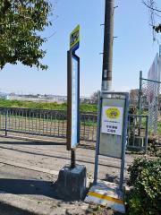 「松原市民運動広場前」バス停留所