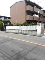 「家原寺町」バス停留所