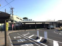 「中之条駅」バス停留所