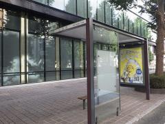 「日銀前」バス停留所