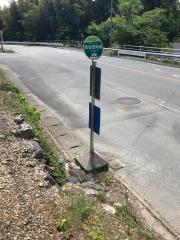 「度会団地前」バス停留所