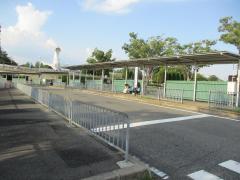「万博記念公園駅」バス停留所