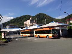 「河津駅」バス停留所