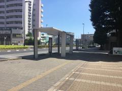 「柏の葉キャンパス駅東口」バス停留所