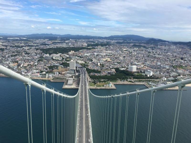 神戸側の風景です。