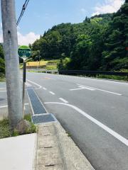 「ツヅラ又橋」バス停留所