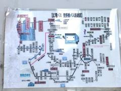 「南海田」バス停留所