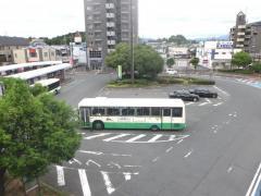 「五位堂駅」バス停留所