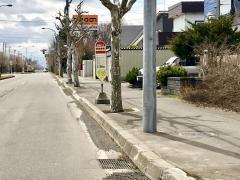 「野幌錦町」バス停留所