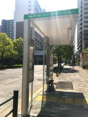 「晴海トリトンスクエア中央」バス停留所