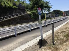 「中山神社」バス停留所
