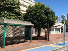 「義仲寺」バス停留所