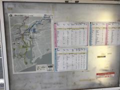 「上町一丁目」バス停留所