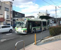 「江口橋」バス停留所