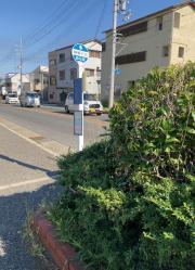 「鳥羽」バス停留所