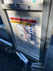 「中央郵政研修センター」バス停留所