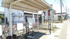 「安松」バス停留所