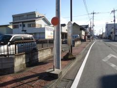 「本町郵便局前」バス停留所