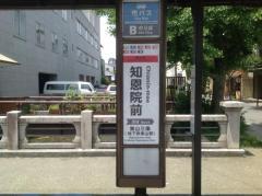 「知恩院前」バス停留所