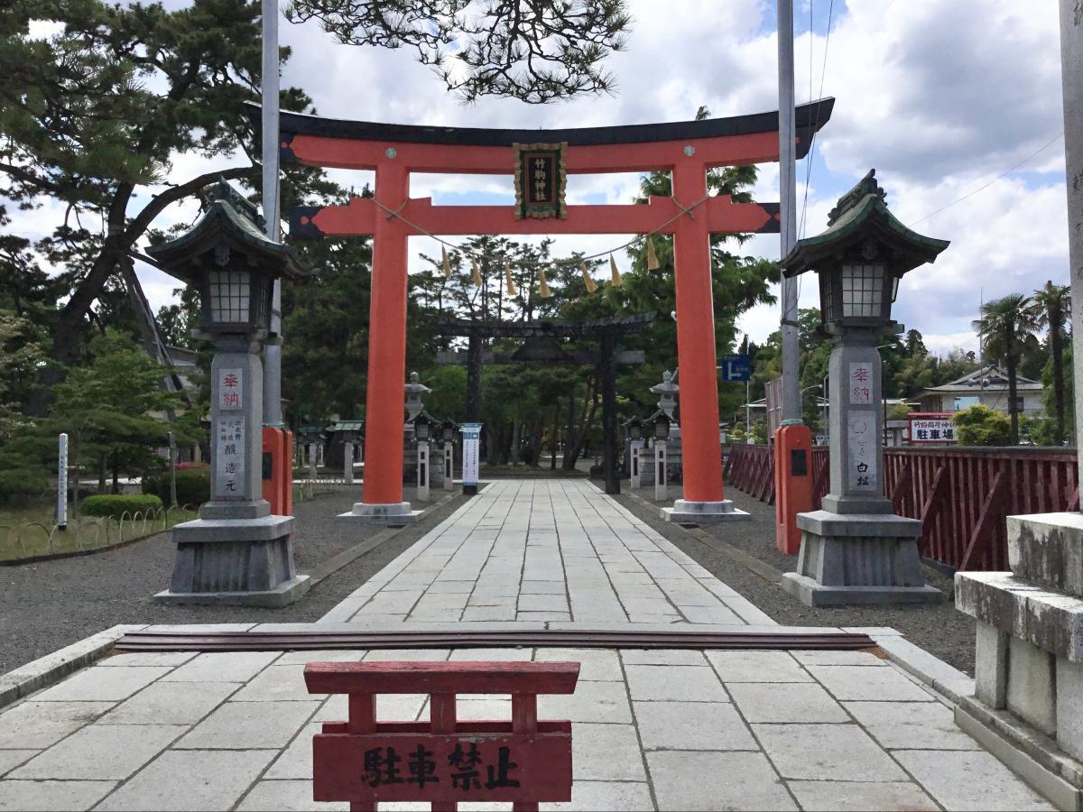 竹駒神社です。
